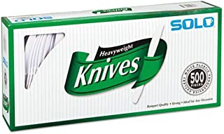 product image for SOLO Cup Company Heavyweight Plastic Knives, 500 Count, White