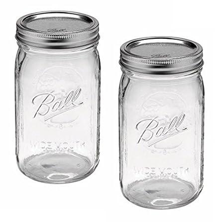 Ball Mason Jars WideMouth Quart 40oz Decorative 40 Jars Amazonco Enchanting Ball Decorative Jars