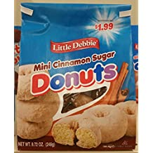 Little Debbie Cinnamon Suger Mini Donuts (bagged) 8. 72 oz