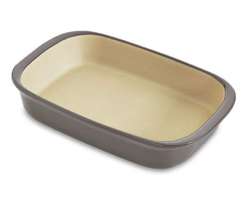 Pampered Chef Large Rectangular Baker Graystone