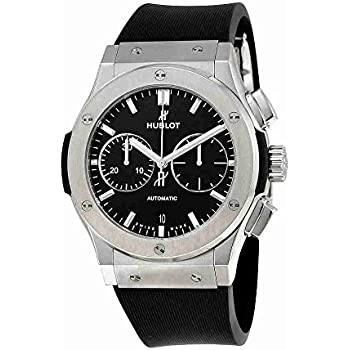 Hublot Classic Fusion Black Dial Chronograph Mens Automatic Watch 521.NX.1171.RX