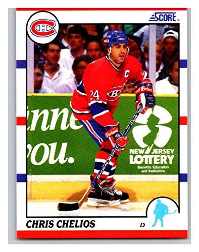 1990-91 Score #15 Chris Chelios Mint Hockey NHL ()