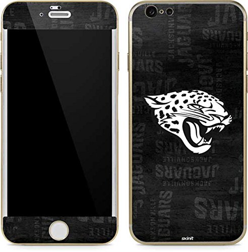 Skinit Jacksonville Jaguars Black & White iPhone 6/6s Skin - Officially Licensed NFL Phone Decal - Ultra Thin, Lightweight Vinyl Decal Protection