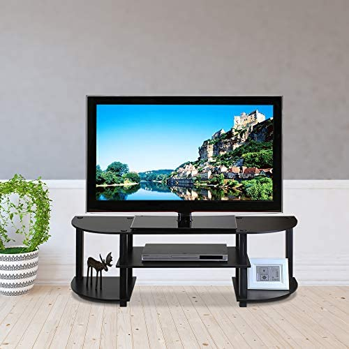 home, kitchen, furniture, living room furniture, tv, media furniture,  television stands, entertainment centers 10 image Furinno Turn-S-Tube Wide TV Entertainment Center in USA
