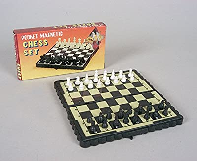 Miniature Magnetic Chess Set