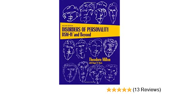 Disorders of Personality: DSM-IV and Beyond (Wiley Series on