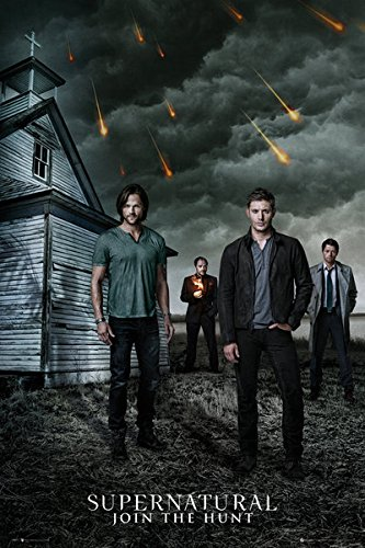 Amazoncom Supernatural Tv Show Poster Print The Gang Sam