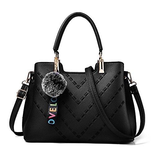 Shoulder Handbag Xmy Fashion Women Casual Joker DonnaNero Messenger ybvf7Y6g