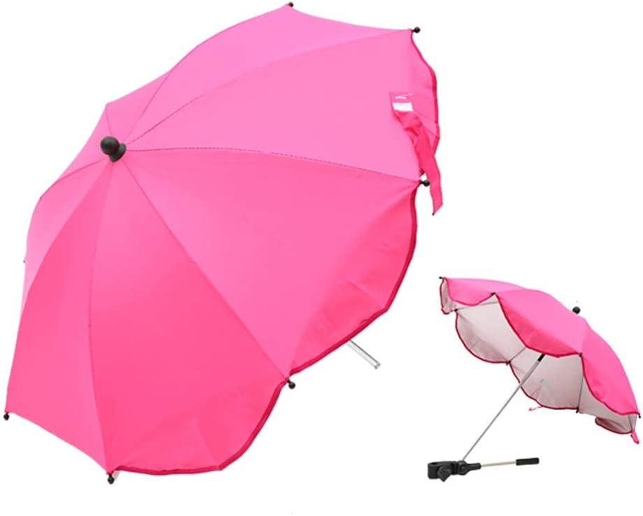 Houkiper Detachable Baby Carriage Umbrella Kids Baby Sun Shade Universal Umbrella Parasol Pram Pushchair Stroller Buggy