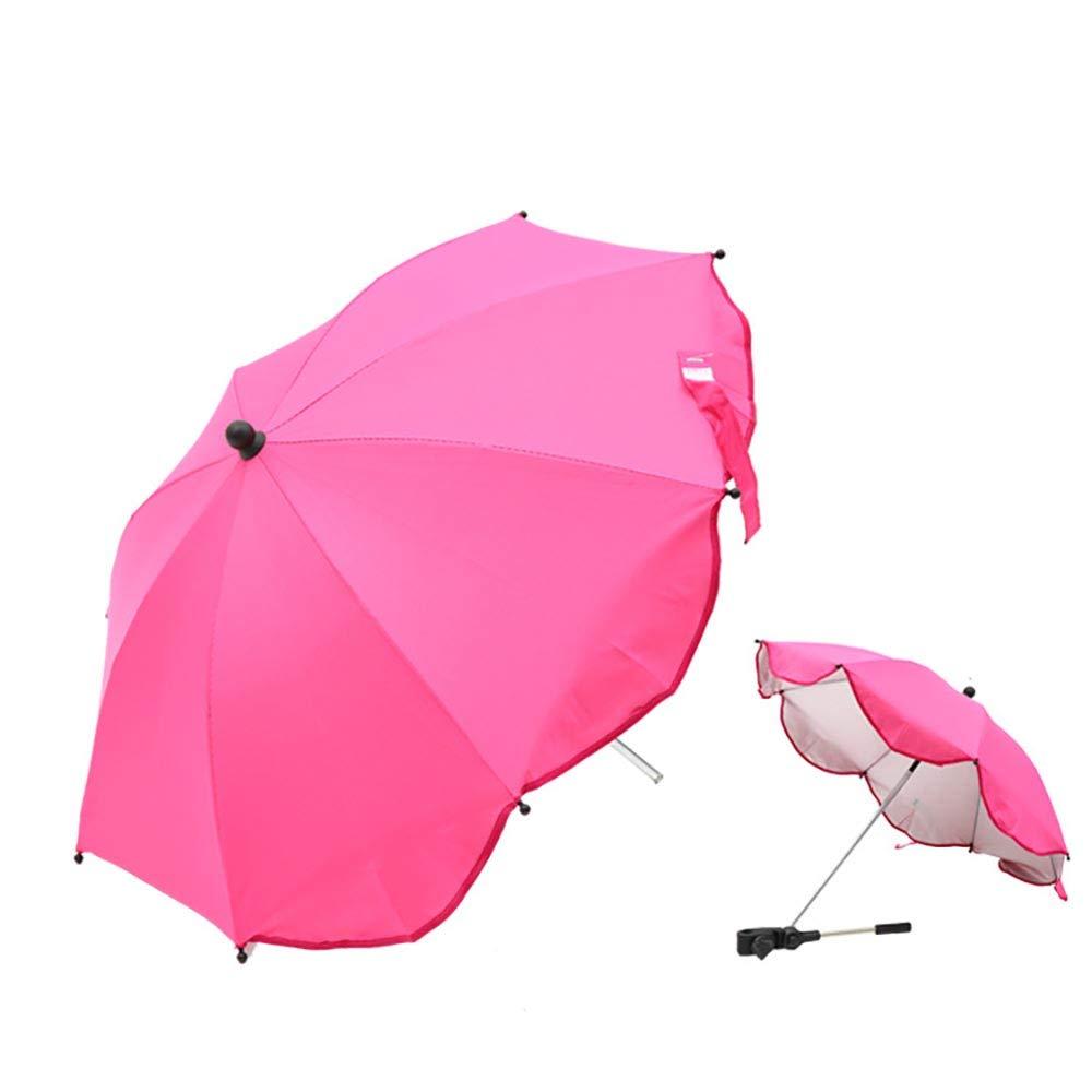 Cochecito de Sombrilla Universal Cortina de Sun Paraguas Parasol para Cochecito de ni/ño del Cochecito Cochecito Buggy Beb/é sombrilla