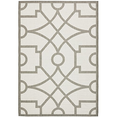 Safavieh Martha Stewart Collection MSR4121L Fretwork Grey Runner Rug (2'7