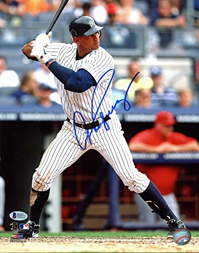 (Alex Rodriguez Signed Photo - 11x14 BAS #E85372 - Beckett Authentication - Autographed MLB Photos)