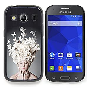 """Planetar ( Modelo rosado púrpura puntos brillantes"""" ) Samsung Galaxy Ace Style LTE/ G357 Fundas Cover Cubre Hard Case Cover"""