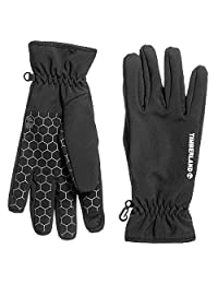 Timberland Men`s Power Stretch Touchscreen Compatible Web Grip Gloves
