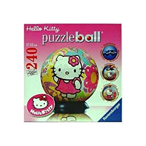 Ravensburger Puzzleball 11506 Hello Kitty Peace And Love Puzzle Da 240 Pezzi