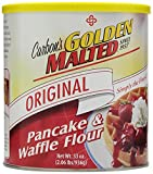 Golden Malted Pancake & Waffle Flour, Original, 33-Ounce Cans (Pack of 3) (Packaging May Vary)