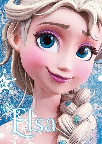 Disney Frozen Snow Queen Elsa Close-up Series 3D Lenticular Card / Disney 3D Postcard