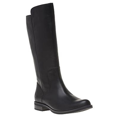 Timberland Damen Magby Tall Boot (Wide Fit) Stiefeletten, Schwarz ... 98ca6a02a9