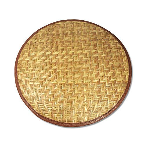 Sustainable Simplicity Woven Bamboo Dish Mat