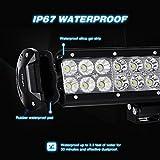 Nilight-Light-Bar-20-Inch-126w-LED-Lights-Spot-Flood-Combo-Led-Bar-Off-Road-Lights-Driving-Lights-Led-Fog-Lights-Jeep-Lights-Boat-Lighting-LED-Work-Light