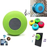 SHOPEE Water Proof Bluetooth Shower Speaker With Mic (Multi color)