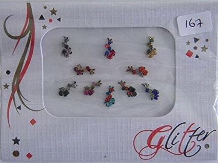 One (1) paquete Multi Pack funda Crystal Diamant Bindi - Stick de ...
