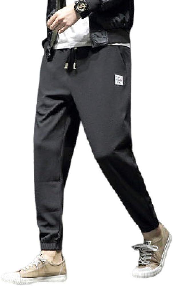 nobranded Pantalones para Hombre Pantalones de chándal Pantalones Deportivos Chándales Pantalones Deportivos Ropa Deportiva Pantalones Holgados de Color Liso Pantalones Athleisure