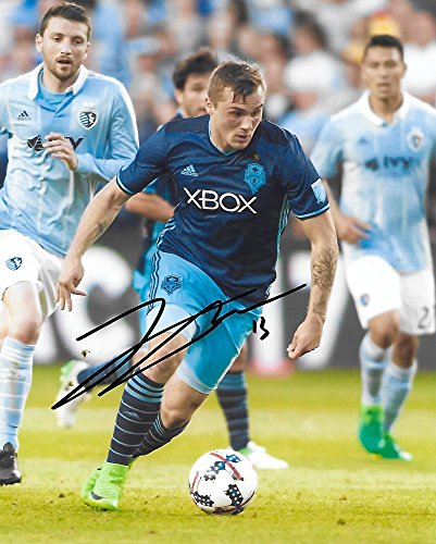 Jordan Morris, Seattle Sounders FC, Signed, Autographed, 8X10 Photo, a Coa with the Proof Photo of Jordan Signing Will Be Included