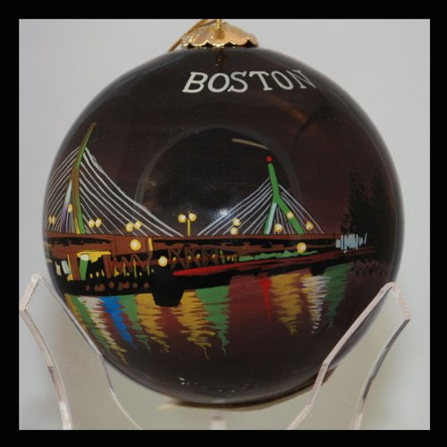 Leonard P. Zakim Bunker Hill Memorial Bridge Boston Ornament