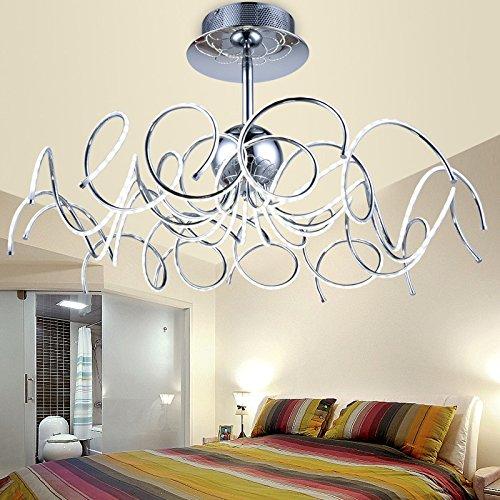 YMXJB Kreative LED Decke Licht Anhänger Kronleuchter Dekor perfekt für Hotels Treppe Konferenz Halle Schlafzimmer Esszimmer dekorative Leuchten