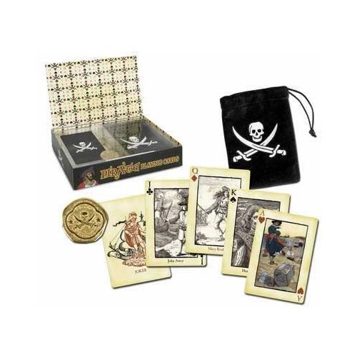 - Pirate Playing Cards Set