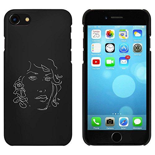 Schwarz 'Porträt der Frau' Hülle für iPhone 7 (MC00070157)
