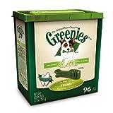 Greenies Lite Tub-Pak Treat for Dogs, 27-Ounce, Teenie