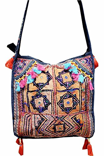 Hippie Shoulder BG67 Vintage Indian Bag Handmade Patchwork Tribal Banjara zwqrxSPZz