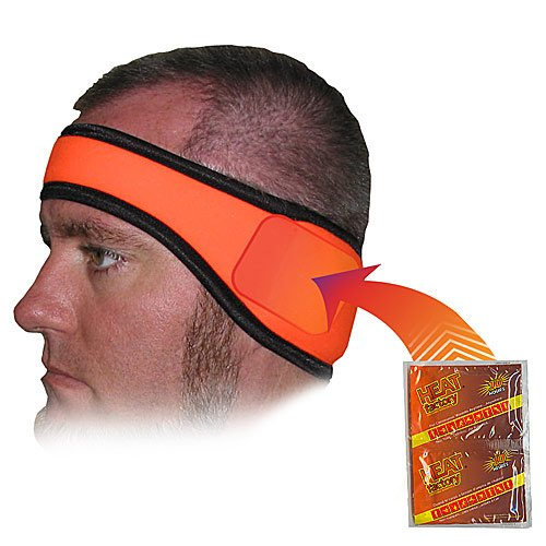 Heat Factory Fleece Ear Headband with Hand Heat Warmer Po...