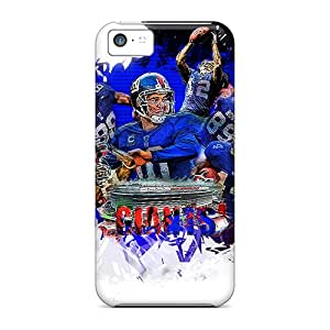 Bumper Hard Phone Case For Iphone 5c (tiA13721rAKJ) Allow Personal Design Vivid New York Giants Pattern