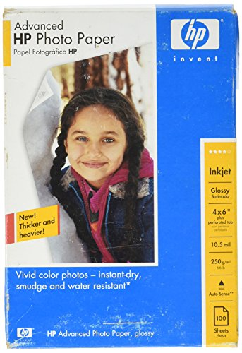 per PAPER,ADV PHOTO, 100 sheets (Hp Color Laser Glossy Photo Paper)
