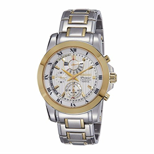 Seiko-Mens-SPC162P1-Premier-White-Watch