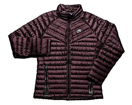 Nike Aeroloft 800 Summit Men's Down Jacket Maroon Size Small