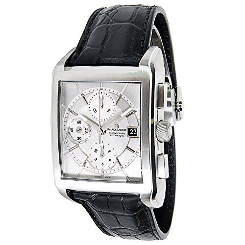 Maurice Lacroix Pontos Chrono swiss-automatic mens Watch PT6187/97 (Certified Pre-owned)