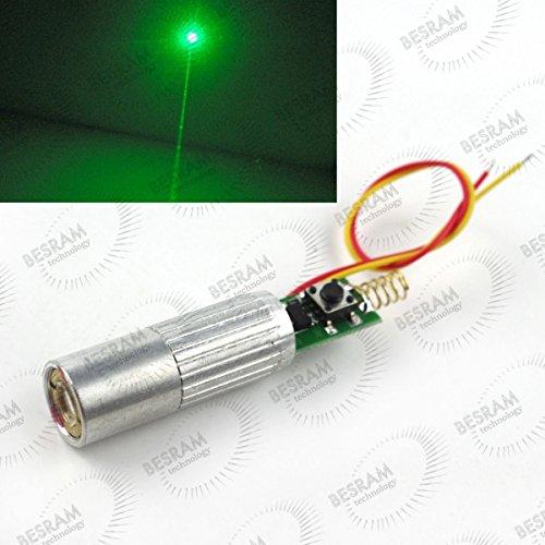 2pcs Industrial/LAB 3VDC 532nm Green Beam Laser Lazer 30mW Diode Module