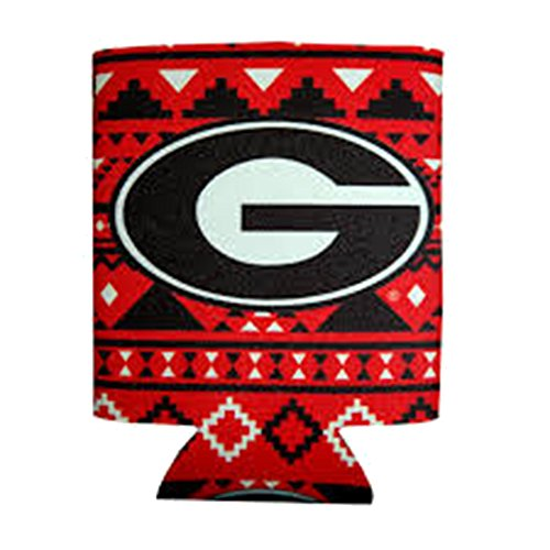- Jay Mac Sports UGA Aztec Can Coozie