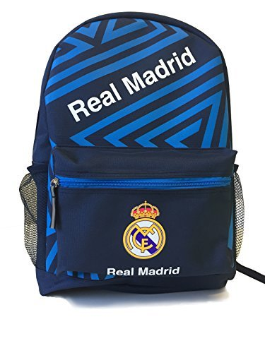 Icon Sports Official Licensed Backpack, Real Madrid, Navy by Icon Sports