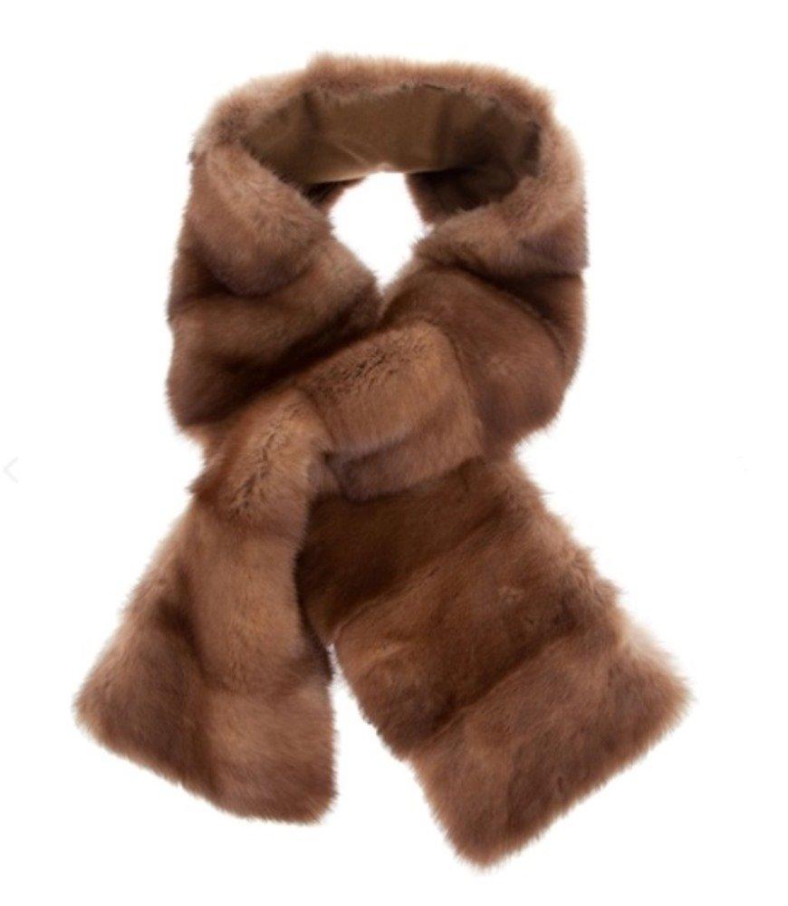 Women's New Mink Fur Scarf