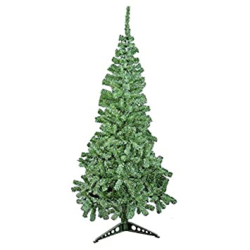 The Christmas Workshop 6 ft Artificial Christmas Tree, Green ...