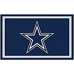 FANMATS NFL Dallas Cowboys Nylon Face 4X6 Plush Rug