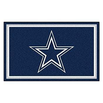 Image of Area Rugs Fanmats Dallas Cowboys 4x6 Rug