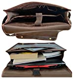Rustic Town Handmade Genuine Leather 16 inch