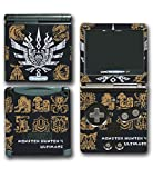Monster Hunter 4 Ultimate Generations 3 World Video Game Vinyl Decal Skin Sticker Cover for Nintendo GBA SP Gameboy Advance System