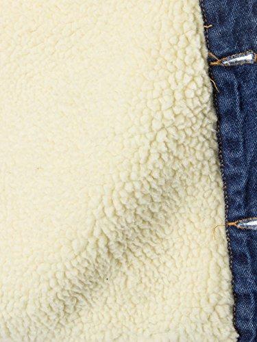 Sons Louis Bleu Jacket Bloom Amp; Only For Homme Denim Fur Pww6rn n5nxgEFf7w